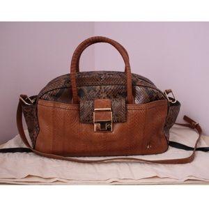 LANVIN python handbag